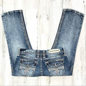 Rock Revival Jillian Capri Jean's.  Size 29
